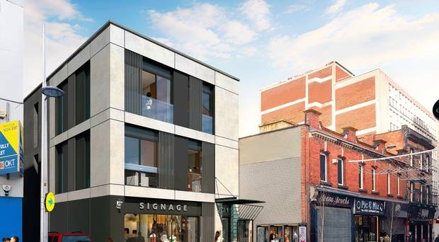 KFC tycoon plans flats at former fabric store in Belfast