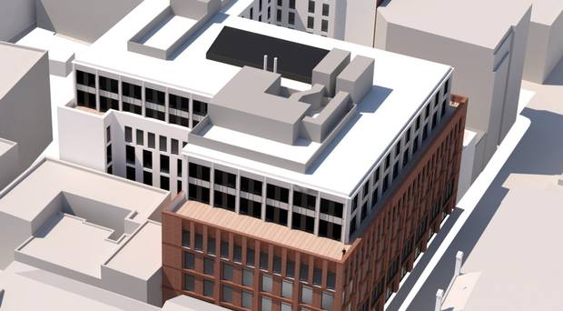 Hotel plan for new building close to Primark fire site in Belfast