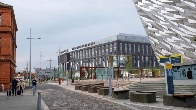 Belfast's Titanic Quarter to get third hotel after plans approved