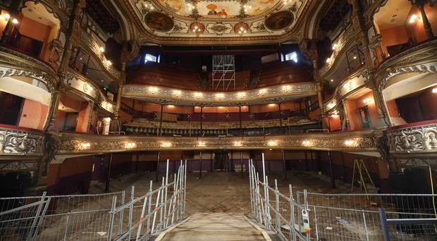 Belfast Grand Opera House £12M restoration project begins