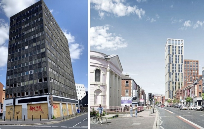 Derry developer announces latest high rise build-to-rent proposal for Belfast